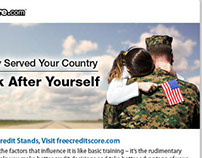 Targeted email, military families