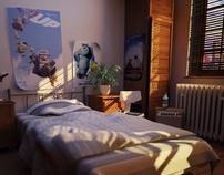 "Jeremy Birn Lighting Challenge ""the Bedroom"""