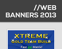Web Ads/Banners 2013