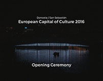 European Capital of Culture 2016 / Opening Ceremony