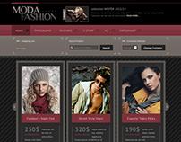 Moda - Joomla Template