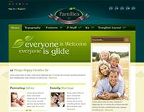 Families - Joomla Template