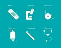 Medical Equipment Pictogram