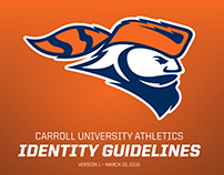 New Athletics Logo for Carroll University