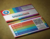 MultiColor Business Card!