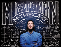 MISTAMAN M-THEORY _ Cd cover