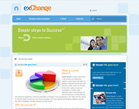Exchange - Joomla Template