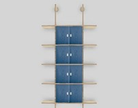 Slot Together Alcove Plywood Shelving