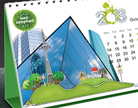 Emirates float glass calendar