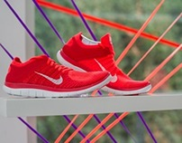 Nike Free Flyknit Media Launch