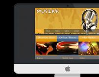 Music Site - Concept