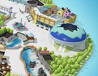 Dolfinarium Park Map