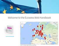 Euraxess Web Handbook website