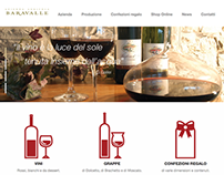 Azienda Agricola Baravalle - New Website