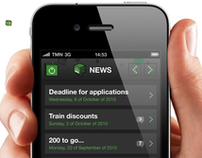 Codebits IV, iPhone & Android application