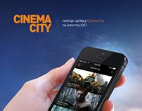 Cinema City app - redesign for iOS7