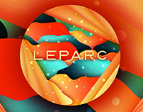 Corporate screensaver for LEPARC