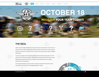 Iron Eagle Challenge Parallax Website