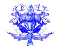 ICELANDIC Restaurant branding
