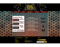 Rock & Roll Museum Website Design