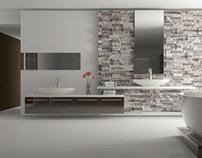 Bathroom Design with C4D