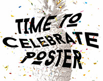 TIME TO CELEBRATE POSTER