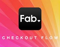 Fab.com   Mobile App Checkout Flow Redesign