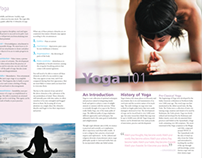 4 page newsletter layout