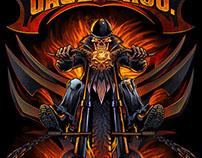 Gage Bros. Skeleton Rider
