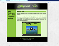Mixcraft Tools, The help website