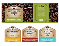 New England Coffee Redesign