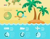 Travel Infographics Elements.