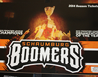 Schaumburg Boomers 2014 Season Ticket Books