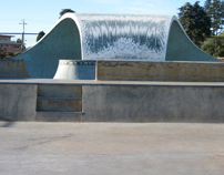 "Santa Cruz Skatepark Public Art Project ""WAVE"""