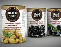 Sunan Black Gold Olives C4D