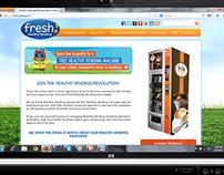 Freshvending Website