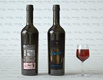 Vourla Wine C4D