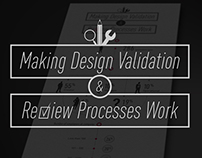 Infographic - Making Design Validation