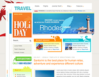 Holiday - Joomla Template