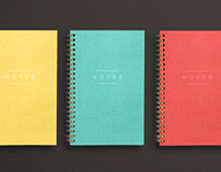 Franklin Mill Felt Series Notebooks