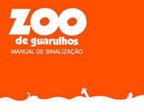 Sinalização | Zoo de Guarulhos