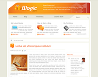 Blogic - Joomla Template