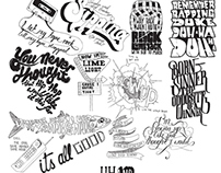 Notoriously Hand Drawn - Hand drawn type music video