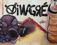 Projeto Cartazes de Protesto - Vinagré