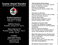 Postcard - Event Promo - Towne Street Theatre