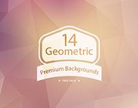 Geometric Backgrounds (Freebie)