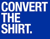 Convert The Shirt