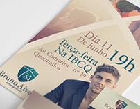 Ev Bruno Alves - Logo e divulgação