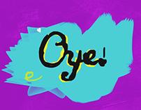 Oye! (Cel animation test)