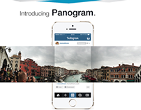 Panogram for Instagram, a new Panorama feature concept